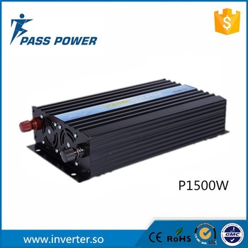 High Frequency DC/AC Inverters Type and Single Output Type Pure Sine Wave Off Grid Power Inverter 1500W