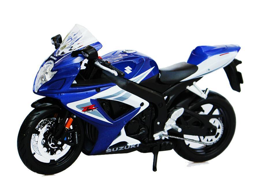Buy 1:12 Quality kids Mini Motorcycle SUZUKI GSX-R 750 Die cast ...
