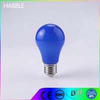 Newest Design decorative mini led night light A60 5W blue light bulbs