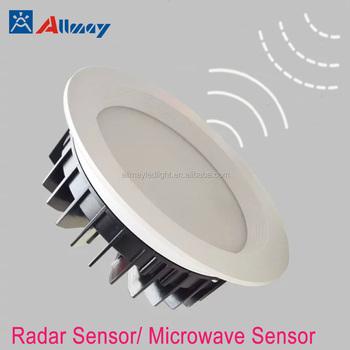 size 40 43e16 1d288 7W Radar sensor indoor led downlight hotel restaurant club corridor motion  sensor led recessed light, View indoor motion sensor light, ALLMAY Product  ...