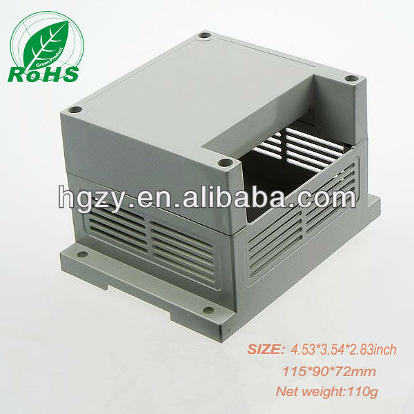 abs pcb enclosure wall mount standard din rail enclosure