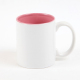 wholesale 11oz white inner color sublimation coated porcelain mug for DIY printing