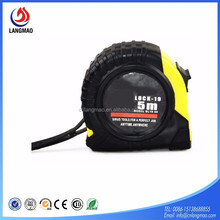 Promotional retractable construction auto-stop building work steel tape measure logo costomized