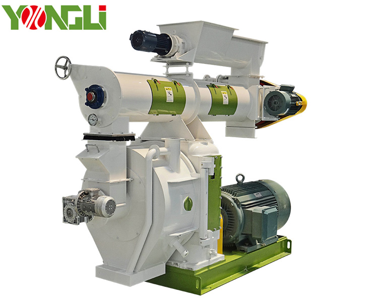 YONGLI Factory price Biomass Wood Sawdust Rice husk Straw <strong>Pellet</strong> Machine Price