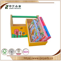 FSC made in china natural pine plywood DIY unfinished train kit toy wood educational toys for 3-12 year kids