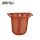 Small half round wall planter hanging basket pot