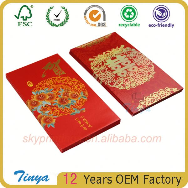 High quality self adhesive printing air mail envelope/invoice pouch