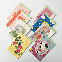 Shuochi brand high quality greeting card thank you card wholesale