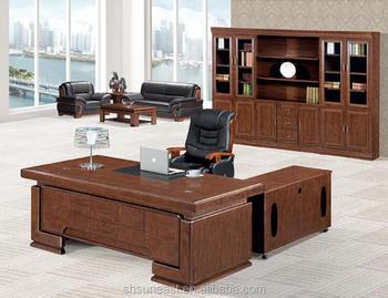 Ufficio Direzionale Legno : Luxury design moderno a forma di l scrivanie in legno boss manager