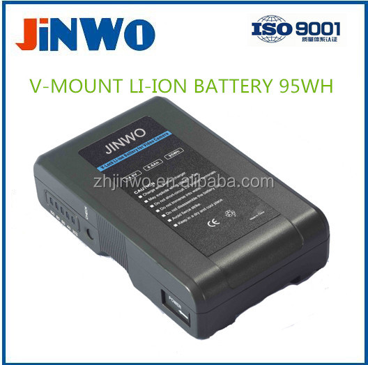 V-mount type Li-ion Broadcast Battery 95WH 14.8V 6600mAh Broadcasting Video Camera Battery Camcorder Broadcast Camer Battery Li
