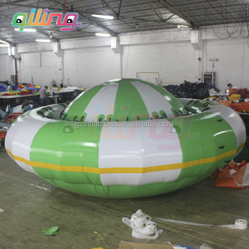 2016 newest design crazy Flying Towables / Inflatable Flying disco Boat For Water Sports