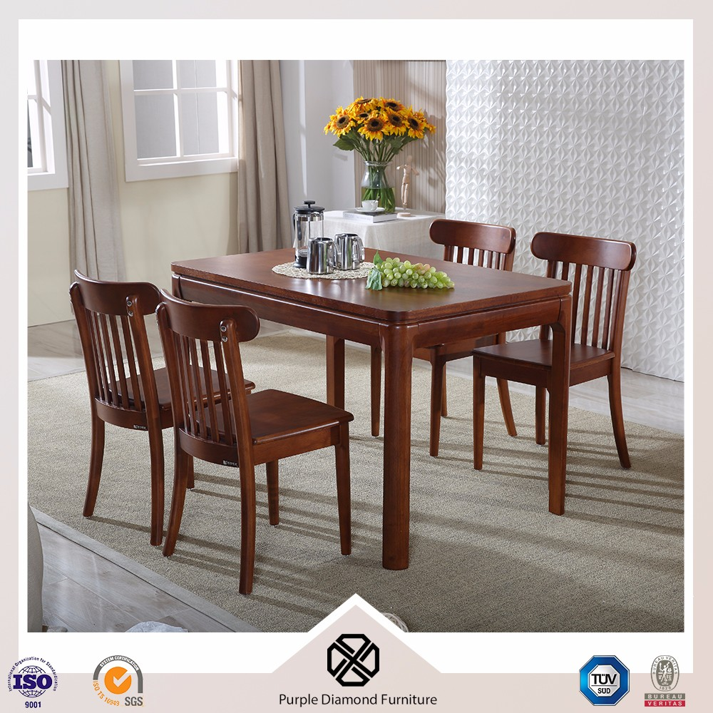 Moderne stijl houten eettafel meubels eetkamer tafel walnoot ...