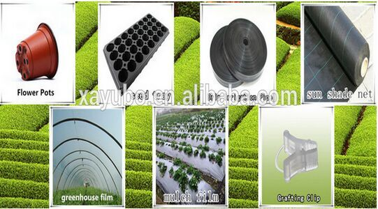 54*28cm China Made Black Plastic Paint Pots