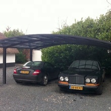 Sturdy aluminum frame PC board roof garage, carports, canopies