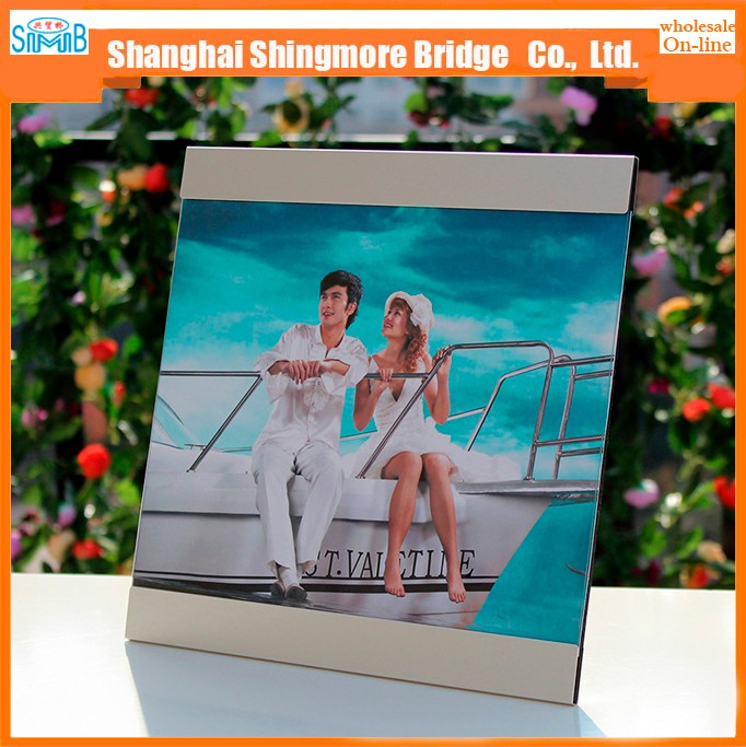 Best price wholesale discountable aluminium material popular picture photo frame