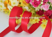 2012 Hot-selling Double Face Satin Ribbon For Gift Packing Decoration
