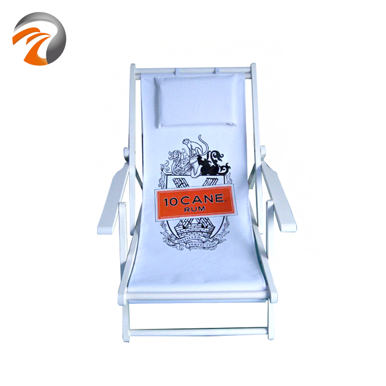 30yesrs Experience Factory Manufacture High Quality Wooden Foldable Beach Chair With Armrests For Beach Leisure