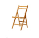 High Quality Durable Portable Natural Slatted Folding Bamboo Chair/Outdoor Garden Chair