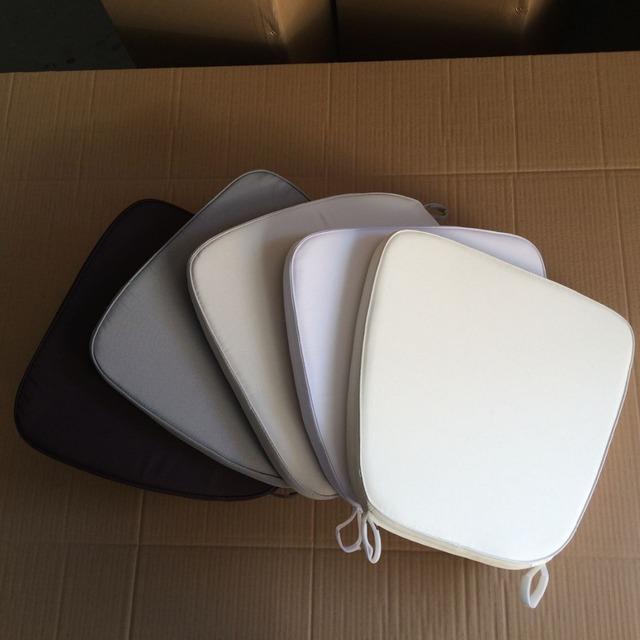 Chiavari Chair Cushion Fabric Cushion Chair Pad White Color Cushion