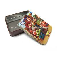 lovely and practical toy gift tin box