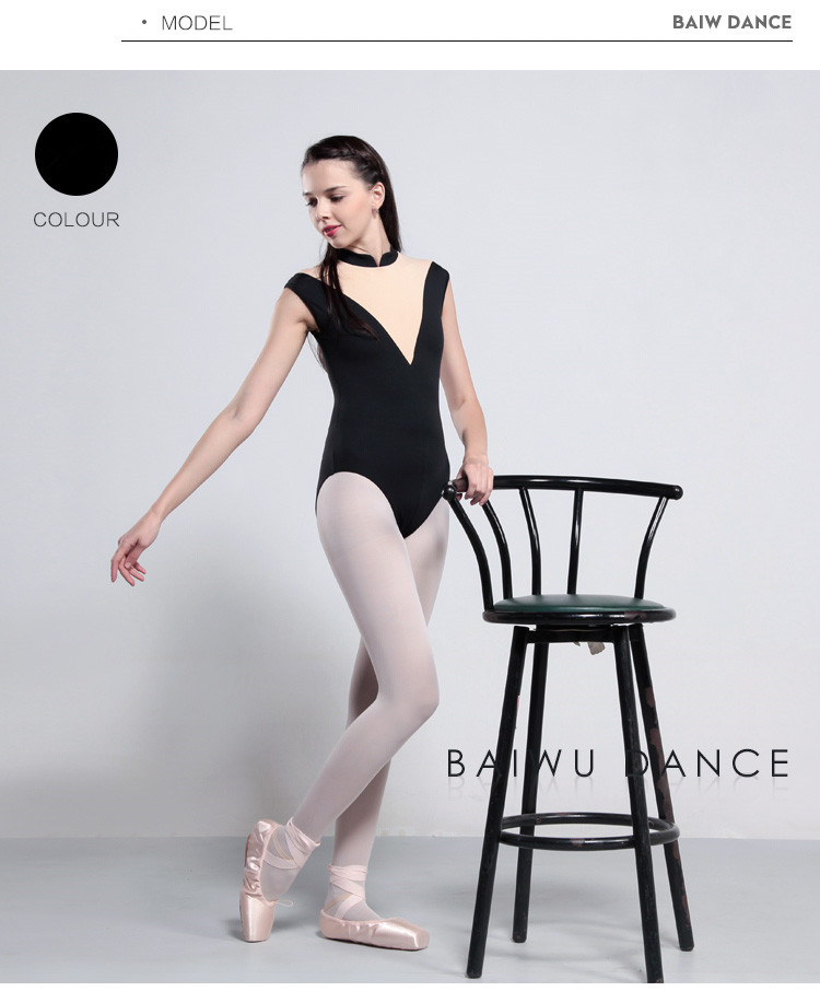 117141051 Baiwu Elegant Ballet Leotards Professional  girl Ballet Leotards