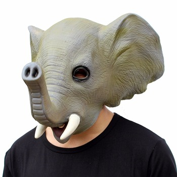 china suppliers halloween costumes china wholesale animal costume head face animal latex mask