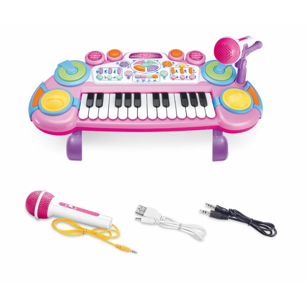 Baby Elektronisch Klavier Piano Keyboard Musikinstrument Tiere Spielzeug