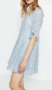 素??a?9/ey/d_runwaylover ey1984d fashion casual women short sleeve blue lace