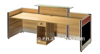 modern wooden office counter desk buy wooden. Modern Laminated Wooden Office Reception Counter Table Desk Buy I