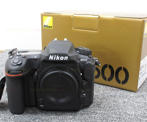 New Nikon D500 DSLR Camera Wi-Fi 4K Video 20.9 MP - Body Only