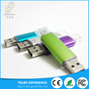 New products 2016 flash drive mobile phone custom otg usb flash drive for iphone