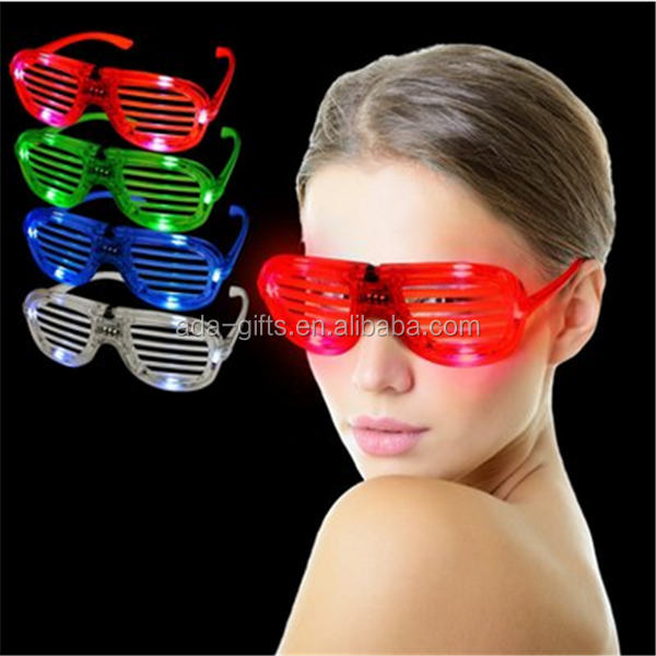 Glow party multicolor led glazen light up knipperende LED bril gloeiende speelgoed decoratieve party masker