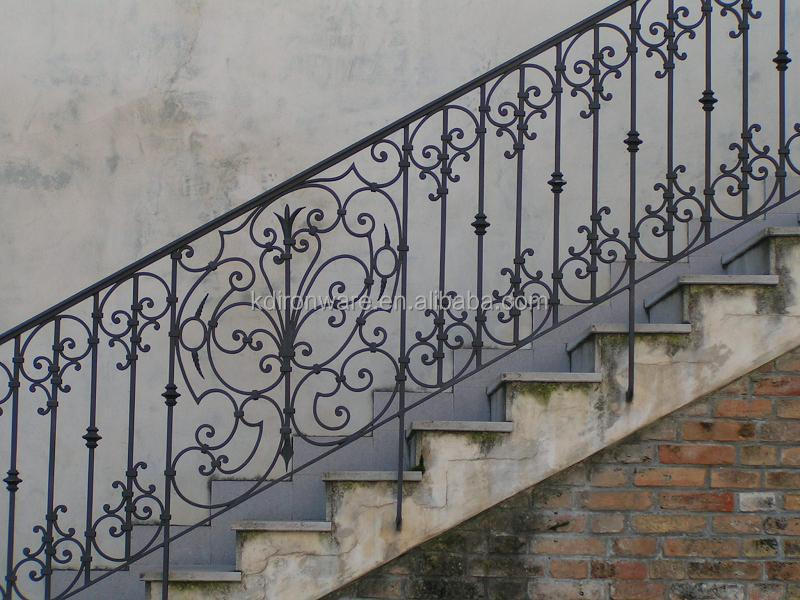 Great Wrought Iron Railings For Outdoor Stair Steps Lowes