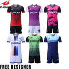Free Printing Logo Soccer Team Wear Cheap Custom Sports Jersey New Model Latest Football Jersey Designs Soccer Uniform