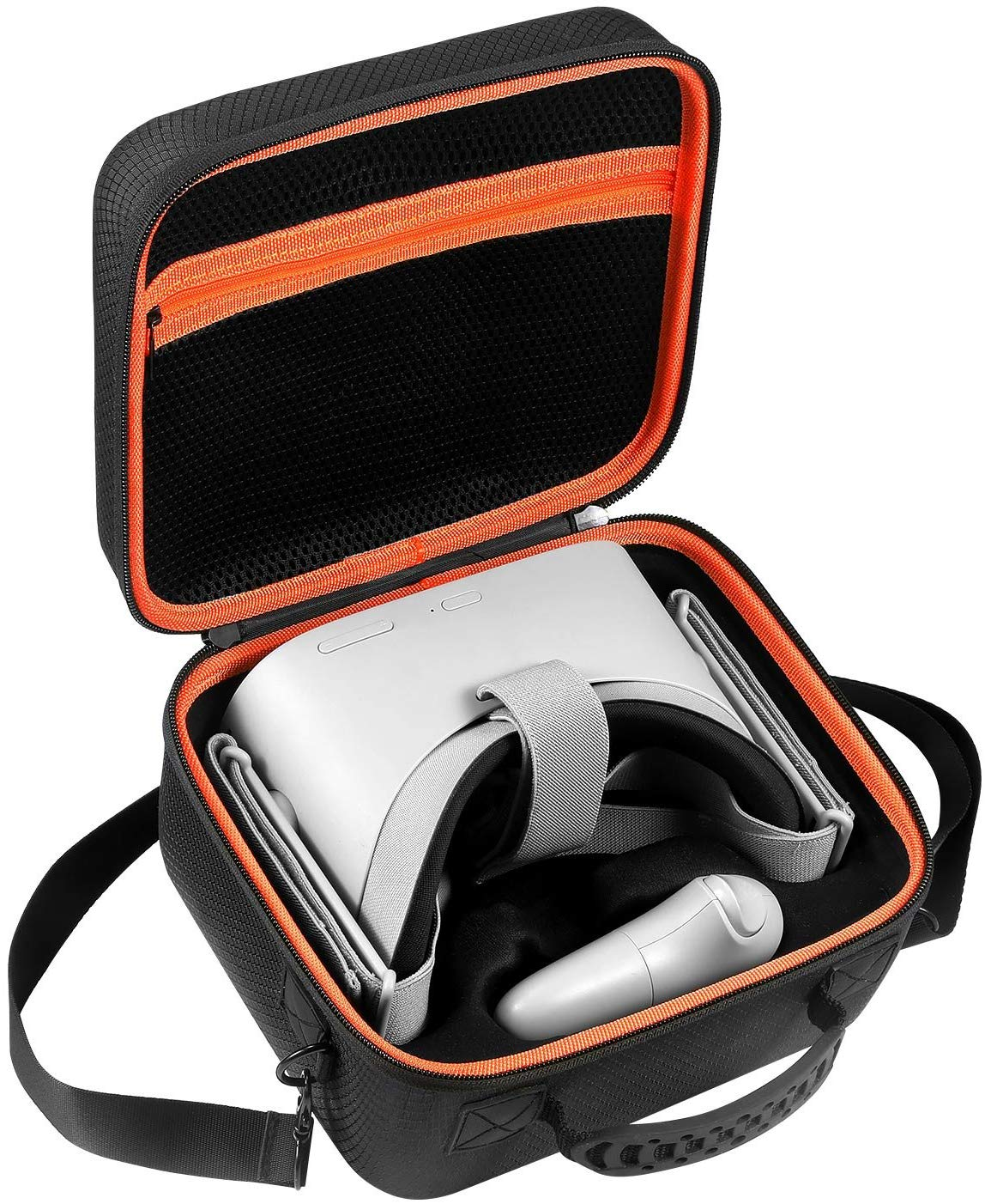 Oculus Go Case by DACCKIT - Travel and Storage Carrying Case for Oculus Go Virtual Reality Headset, Remote Controller and other Accessories