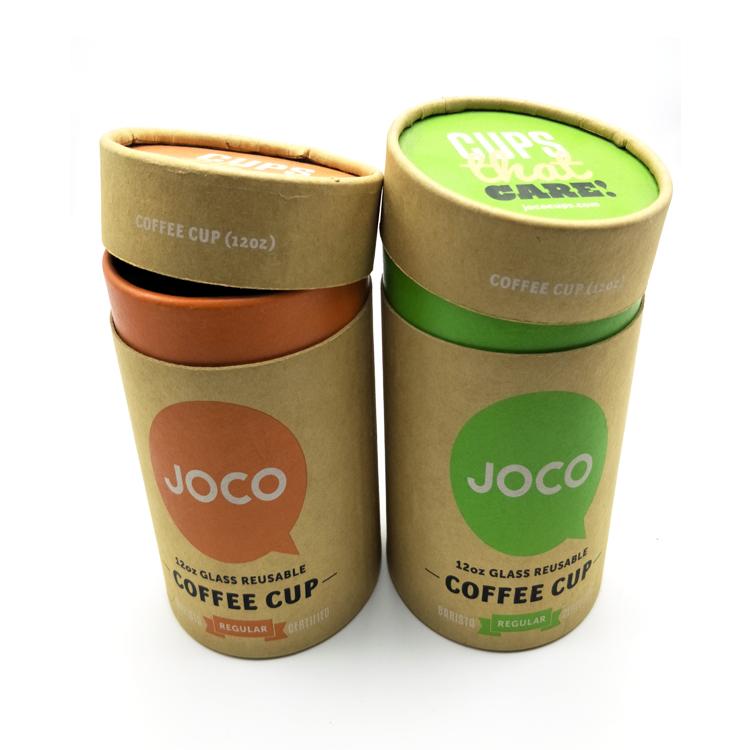 Kích thước tùy chỉnh Tông ống tròn xi lanh chai bao bì hộp giấy