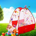 1Pcs Large Portable Children Indoor Outdoor Garden Playhouse Kids Playing Tent Ocean Ball Play Tent House