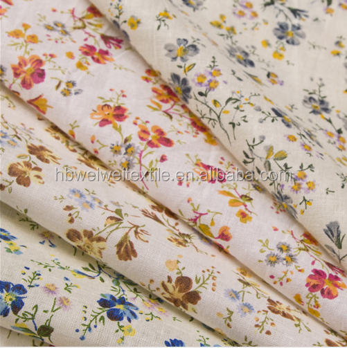 custom printed cotton fabric twill fabric for home textile