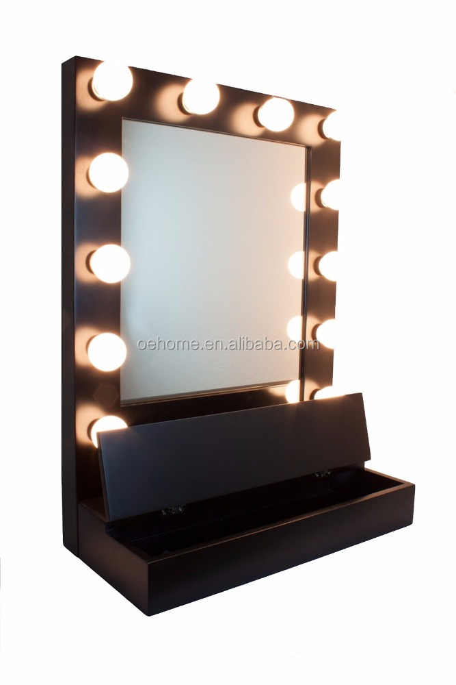 hollywood ge nspireerd vanity spiegel w led lampen spiegels product id 60440328012. Black Bedroom Furniture Sets. Home Design Ideas
