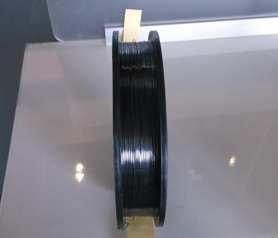 Dia.0.8mm Mola Wire Molybdenum Doped Lanthanum Spool Wire