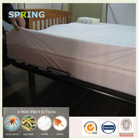 High quality laminated fabric futon bed bug mattress cover