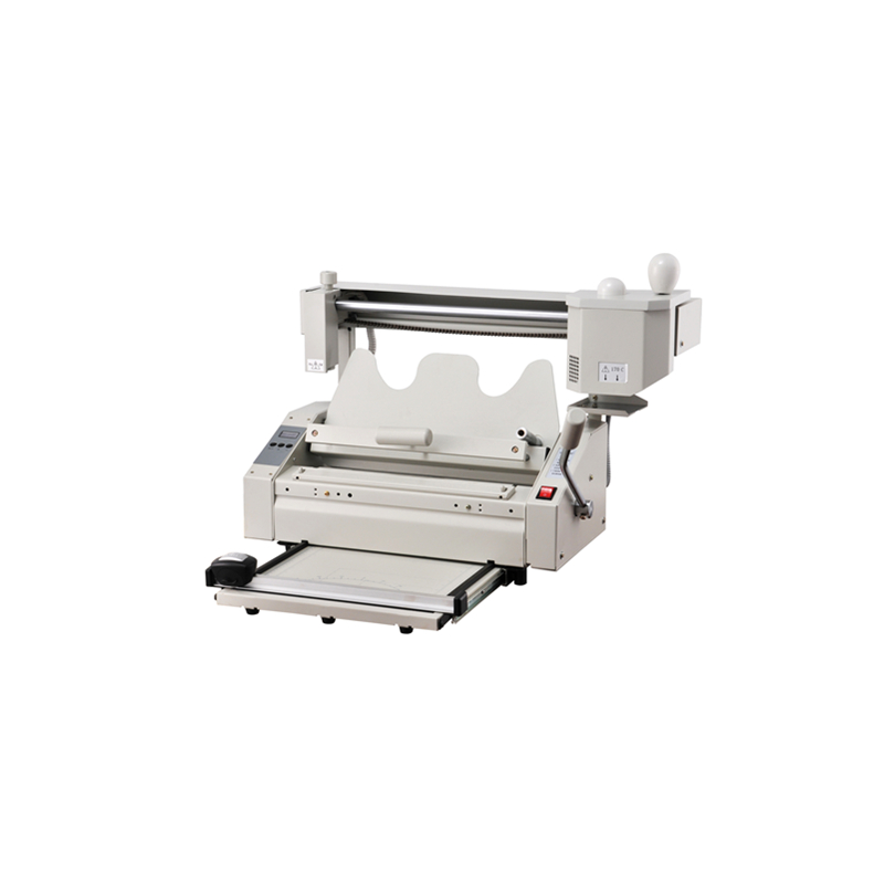 SG-TB05 hard cover book glue binding machine