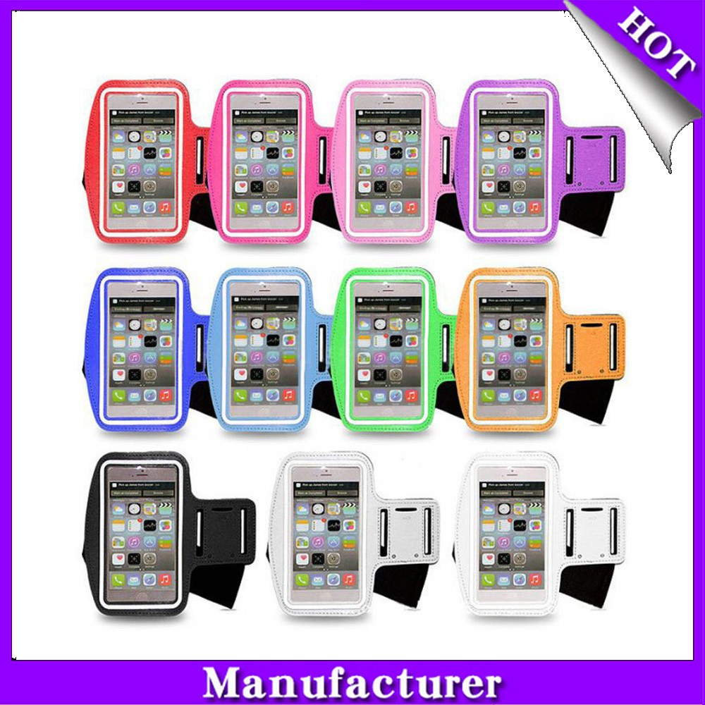 New Touch Screen Display Running Sport Armband Case . Mobile Phone ...