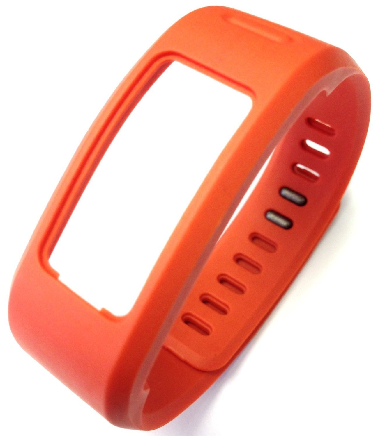I-SMILE® 1PC Replacement Bands with Metal Clasps for Garmin Vivofit(No tracker, Replacement Bands Only) (Tangerine, Large)