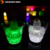 Plastic 5L led ice bucket with two handles factory