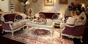 French Classic Style Latest Hand Carved Living Room Sofa Set