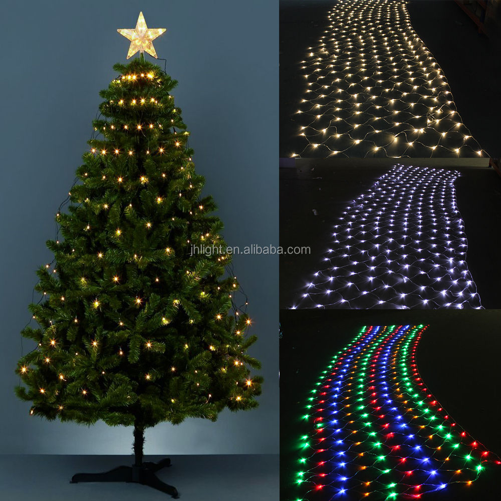 Outdoor Christmas Light Hangers Net Lights Tree