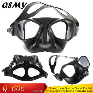 Top Selling2017 Swimming Snorkel Mask New Full Silicone Scuba Diving Mask For Adult Teenagers