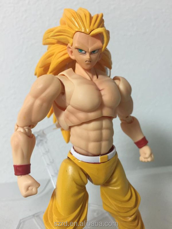 Dragonball Z Songoku ss3 custom action figure/1/6 scale hot toy/oem making toy factory