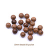 Tryme Wholesale DIY Bracelet Handmade Jewelry Making 10MM Wood Beads Jewelry Findings Accessories